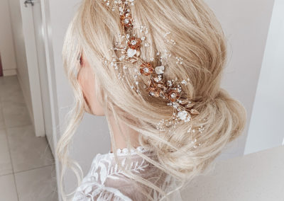 gold coast wedding hair boho modern professional best