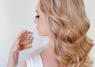 coco-chanel-perfume-blonde-vintage-waves-hairstyle-bride